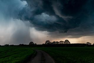 Gewitter über Hünxe