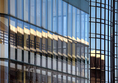 Jagged Edge (Non Paratus) Tags: losangeles la downtown westinbonaventure hotel glass reflections abstract architecturalabstract buildings skyscrapers architecture fragmentedreflections windows