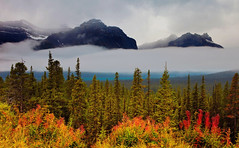 Banff National Park, Alberta, Canada (klauslang99) Tags: klauslang nature naturalworld northamerica banff national park alberta canada mountains landscape trees rocky clouds ngc