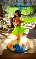🌺Hula Girl🌺 (SurFeRGiRL30) Tags: hulagirl hawaiian hula figurine cute trinket decoration