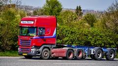 XX13869 (17.05.02, Motorvej 501, Viby)DSC_6875_Balancer (Lav Ulv) Tags: 227192 scania rseries pgrseries scaniarseries r580 v8 topline euro6 e6 henrikpoulsen dybvad afmeldt2018 retiredin2018 red r6 6x2 driverpsyco skeletaltrailer truck truckphoto truckspotter traffic trafik verkehr cabover street road strasse vej commercialvehicles erhvervskøretøjer danmark denmark dänemark danishhauliers danskefirmaer danskevognmænd vehicle køretøj aarhus lkw lastbil lastvogn camion vehicule coe danemark danimarca lorry autocarra motorway autobahn motorvej vibyj highway hiway autostrada trækker hauler zugmaschine tractorunit tractor artic articulated semi sattelzug auflieger trailer sattelschlepper