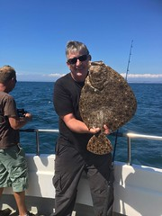 "Stuart Bussey's 9lb Turbot • <a style=""font-size:0.8em;"" href=""http://www.flickr.com/photos/113772263@N05/41843693090/"" target=""_blank"">View on Flickr</a>"