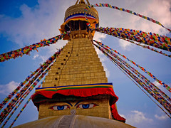 Boudhanath Stupa, Kathmandu, Nepal (CamelKW) Tags: abc annapurnabasecamptrek annapurnaregiontrek kathmandu mbc machapuchare machapucharebasecamp nepal pokhara