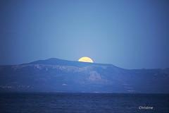the moon's path (christinehag) Tags: φεγγάρι πανσέληνοσ pleine lune full moon