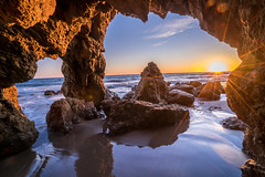 Malibu California Ocean Sea Cave Sunset! Epic Pacific Beach Landscape Nature Photography! Sony A7R2 Carl Zeiss Sony Vario-Tessar T* FE 16-35mm f/4 ZA OSS Lens SEL1635Z E mount Lens! Long Exposure Fine Art Landscape Seascape HDR Elliot McGucken Photography (45SURF Hero's Odyssey Mythology Landscapes & Godde) Tags: malibu california ocean sea cave sunset epic pacific beach landscape nature photography sony a7r 2 carl zeiss variotessar t fe 1635mm f4 za oss lens sel1635z e mount long exposure fine art seascape hdr
