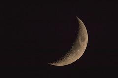 IMG_0210 Waxing Crescent, Mallorca (Fernando Sa Rapita) Tags: baleares canon eos200d mallorca sarapita tamron tamron150600 cielo luna moon night noche sky teleobjetivo cuartocreciente waxing crescent canoneos