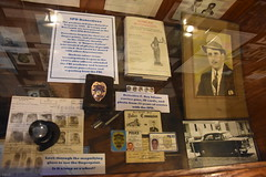 Springfield Calaboose Jail (Adventurer Dustin Holmes) Tags: 2018 springfield springfieldmo springfieldmissouri calaboose jail lawenforcement ozarks midwest museum old historic historical spd springfieldpolicedept springfieldpolicedepartment history police greenecounty interior inside book car vehicle homicideinvestigation servicepins badge idcards identificationcards detective frayadams rayadams alsampy benlamp officer leo lawenforcementofficer lawenforcementofficers fingerprints fingerprintcard