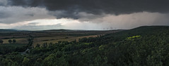 Before the storm (_Corvus97_) Tags: nikon d3100 clouds grass rain lights lookout landscape road hungary