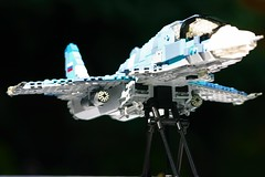 Sukhoi SU-34 Armaments (ModernBrix) Tags: sukhoi su34 su 34 attack fighter jet vehicle military lego russia russian medium range bomber fighterbomber air force modernbrix bricks moc