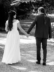 "P1190101-2 (Andy Sut) Tags: wedding bride groom uk traditional england summer matrimony couple romance love british ""thrumpton hall"" nottingham nottinghamshire"