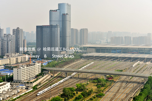 CRH380BL Leaving Chengdu east station