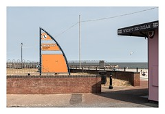 Gorleston Beach (Number Johnny 5) Tags: 2018 lines tamron d750 nikon shapes space mundane post documentary beach boring banal ordinary angles imanoot 2470mm gorleston sign johnpettigrew documenting seaside