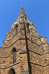 Holy Sepulchre, Northampton (richardr) Tags: northampton northamptonshire themidlands midlands holysepulchre church spire tower building architecture england english britain british greatbritain uk unitedkingdom europe european old history heritage historic