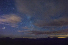 Midnight Mars (Edward Wolohan) Tags: astronomy astrophotography astrophoto milkyway summer mars midnight mountains wicklowmountains wicklowmountainsnationalpark ireland eire