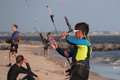 IMG_0915 (Brooklyn Cyclist) Tags: kitesurfing kitenoarding plumbeach brooklyn newyork kiteboarding