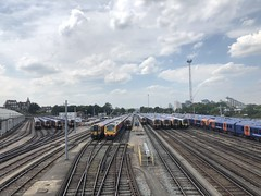 SWR units at Clapham Junction (looper23) Tags: clapham junction yard emu swr southwestern railway july 2018 london train