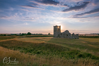Starburst through Knowlton Church (Explored)
