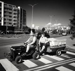 2018-07-18_08-54-23 (xskyven) Tags: praha prague city citylife tractor mobile cellphone sony sunny morning ride alien