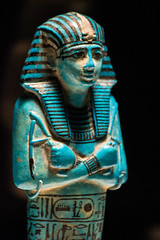 Ushebti de Seti I (Fernando Two Two) Tags: sety seti sethos faraon faraoh egypt egipto fayenza ushebti shabti azul blue azzurro figura escultura sculpture antic nemes dinastiaxix caixaforum britishmuseum museobritanico