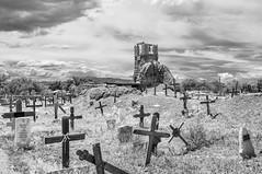 Taos Pueblo Cemetery (Snap Man) Tags: newmexico taos taoscounty taospueblo cemetery graveyard