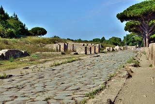 Italy , ancient city of Ostia Antica