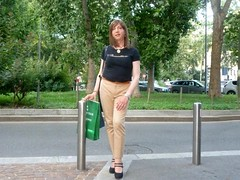 Milano - Via Ozanam (Alessia Cross) Tags: crossdresser tgirl transgender transvestite travestito