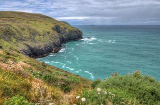 Cornish coast near Perranporth
