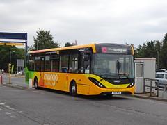 trent barton 110 East Midlands Airport (Guy Arab UF) Tags: trent barton 110 yx17ntl alexander dennis e20d enviro 200 mmc bus east midlands airport skylink wellglade buses wellgladegroup