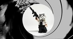 Trooper Bond (Andre Filipe Gaspar) Tags: bond james 007 minifigure minifig wars star stormtrooper starwars lego bennythetrooper