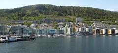 Florida Marina, Bergen, Norway (m_artijn) Tags: florida marina bergen nygårdsgaten norway water harbour hill fjord