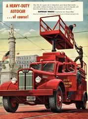 1948 Autocar Truck (Utility) (aldenjewell) Tags: 1948 autocar truck utility ad