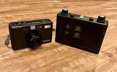Contax T3 & 6x6 RSS (spiritusmentis) Tags: contax t3 realitysosubtle pinhole pointshoot carlzeiss sonnar 35mmf28 titanium premiumps compact lightweight filmisalive