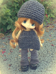 Kikipop (Kerien - Pruine Arlequin) Tags: kikipop dolls doll customisation custo rousse