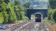 Class 158s approaching Edale (Steel Rails) Tags: edale derbyshire peak district hope valley line railway train diesel