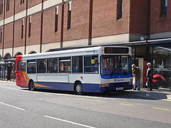 Stagecoach 35114 Chesterfield (Guy Arab UF) Tags: stagecoach yorkshire 35114 yn06wcr alexander dennis dart adl pointer 2 bus new beetwell street chesterfield derbyshire buses