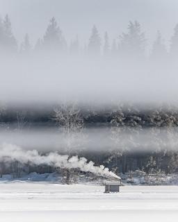 Ness Lake Ice Fishing Cabin