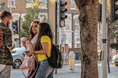 Heart-shaped glasses (PhredKH) Tags: canonphotography fredkh photosbyphredkh phredkh splendid sunglasses streetphotography streetscene streetsoflondon tree trafficlights car road people peoplewatching portrait 70200mm ef70200mmf28lisiiusm canoneos7dmarkii