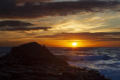 Giant's Causeway. (richard.mcmanus.) Tags: giantscauseway northernireland unesco uk sunset landscape coast mcmanus