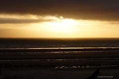 Sunset (DirkVandeVelde back , and catching up) Tags: europa europ europe france frankrijk nordpasdecalais bercksurmer sea sony zee mer meer strand plage beach sunset zonsondergang