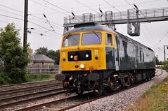 47727 at Morpeth North (stephen.lewins (1,000 000 UP !)) Tags: class47 47727 ecml morpeth northumberland railways edinburghcastle caledonian brush