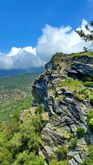 525 - Cap Corse - Nonza, la falaise (paspog) Tags: corse capcorse corsica france nonza mai may 2018 falaise cliff