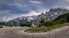Julian Alps Panorama (hjuengst) Tags: slowenien slovenia julianalps julischealpen panorama mountain berge alpen alps pass triglavnationalpark vrsicpass vršičpass