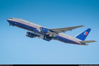 [LAX.2010] #United.Airlines #UA #UAL #Boeing #B772 #N227UA #awp