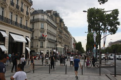 Avenue De Champs Elysees (lazy south's travels) Tags: paris france french urban road street scene people man woman building architecture tourist tourism