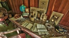 Inside An Abandoned WWII Army Surgeon's House (29) (Darryl W. Moran Photography) Tags: urbex urbanexploration urbandecay abandonedanddecaying abandonedsurgeonshome leftbehind forgottenpast frozenintime darktouristphotography