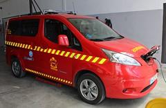 Bomberos Comunidad de Madrid (emergenciases) Tags: emergencias españa 112 bomberos bomberoscomunidaddemadrid bomberoscm lozoyuela parque13 comunidaddemadrid eléctrico vehículo nissan env200