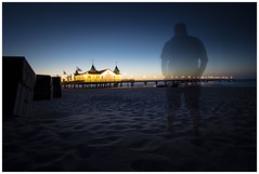 Ahlbeck-02633 (Micha Blitz) Tags: sea usedom nacht sky mer meer mecklenburgvorpommern seebrücke ahlbeck heringsdorf bansin kaiserbäder umwelt geist ghost