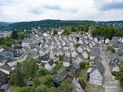 Central Western Germany (John DG Photography) Tags: 2018 djimavic germany dronephotography freudenburg freudenberg hesse deutschland de alterflecken