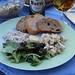 Thunfischcreme, Blattsalat und Häckerle zum Abendbrot