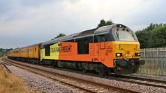 67027_2018-07-23_Malton_5569 (Tony Boyes) Tags: 67027 charlotte colas rail test malton